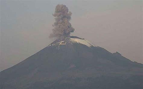 El volcán Popocatépetl hace erupción tras sismo de 7.1 en ...