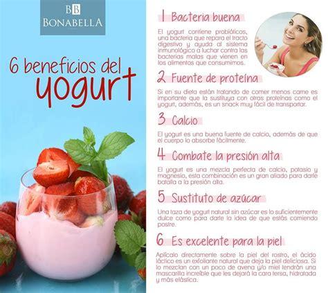 El yogurt natural tiene muchos beneficios para nuestra ...