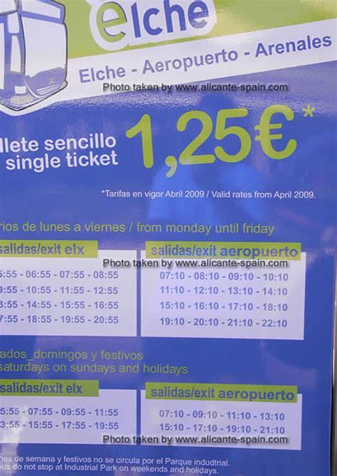 Elche Airport Bus