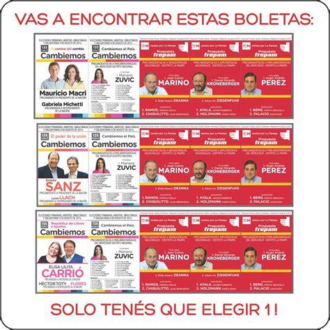 Elecciones 2017 ¿Donde voto en Argentina? Padrón electoral.