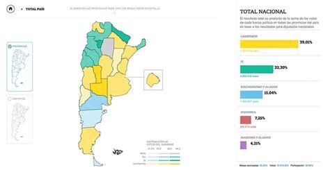 Elecciones 2017: mapa interactivo de las PASO - lanacion.com