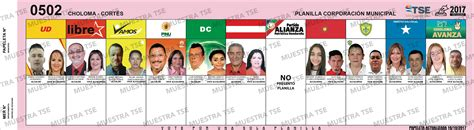 Elecciones 2017 Municipio CHOLOMA: Donde votar, Candidatos ...