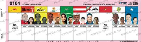 Elecciones 2017 Municipio JUTIAPA: Donde votar, Candidatos ...