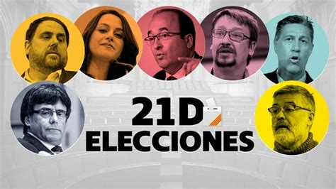 Elecciones catalanas 2017 del 21D: en directo