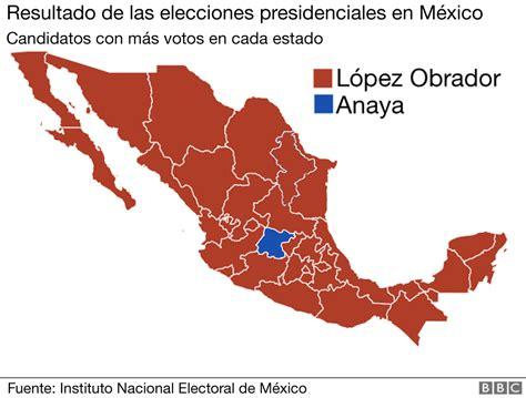 Elecciones en México: el único estado de los 32 de México ...