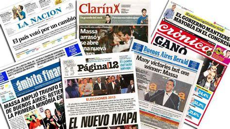 Elecciones: las tapas de los principales diarios ...