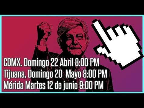 Elecciones Mexico 2018 ???? Fechas de los debates ...