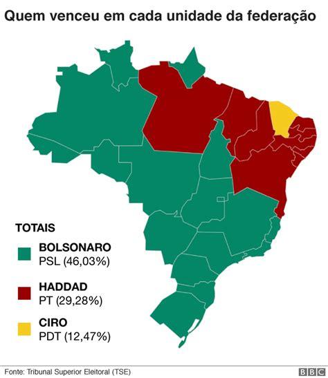 Eleições 2018: O peso de cada região do Brasil na votação ...