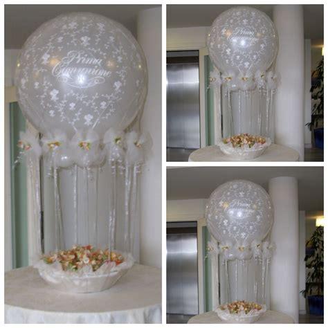 elemento decoracion con globos para comunion 02 | Vittoria ...