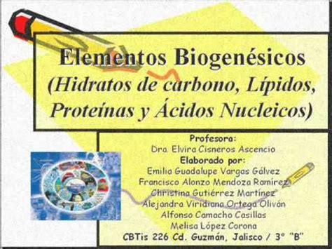 Elementos Biogenésicos 1... - YouTube