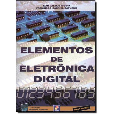 Elementos de Eletrônica Digital | Cia dos Livros