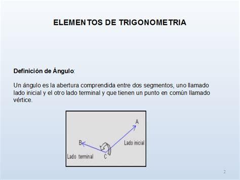 Elementos de trigonometria - Monografias.com
