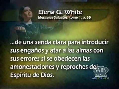 Elena G White y Juan el bautista 3 de 3   YouTube