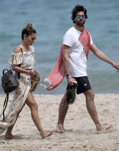Elena Tablada y Javier Ungría, de vacaciones en Ibiza ...