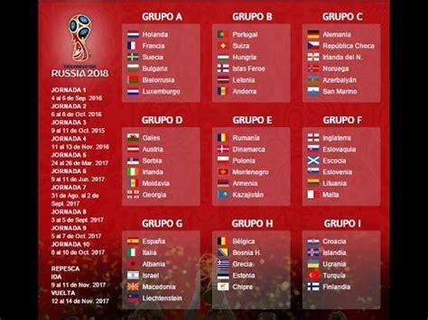 Eliminatorias Rusia 2018 europa   1ra Ronda   YouTube