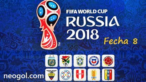 Eliminatorias Rusia 2018 Fecha 8   CONMEBOL Partidos y ...