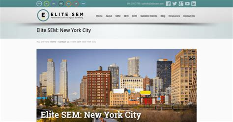 Elite SEM | Best NYC SEO Businesses | 10 Best SEO