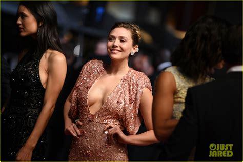 Elizabeth Olsen & Jeremy Renner Work the Cannes Red Carpet ...