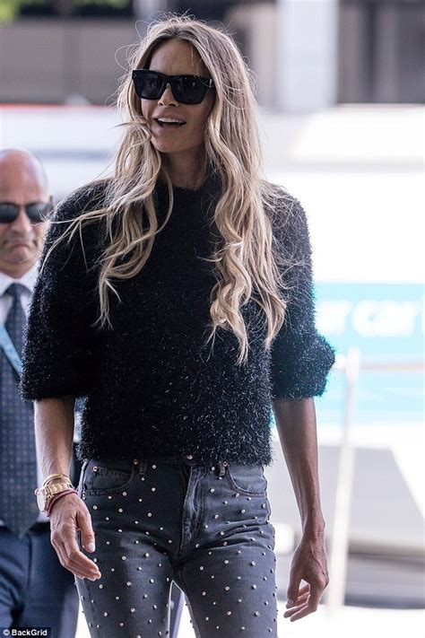 Elle Macpherson returns home to Australia | Daily Mail Online