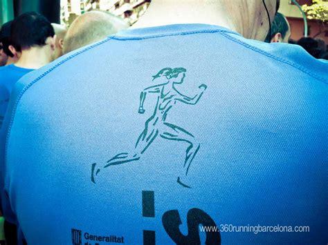Els 10 Blaus. Running race in Gràcia neighbourhood