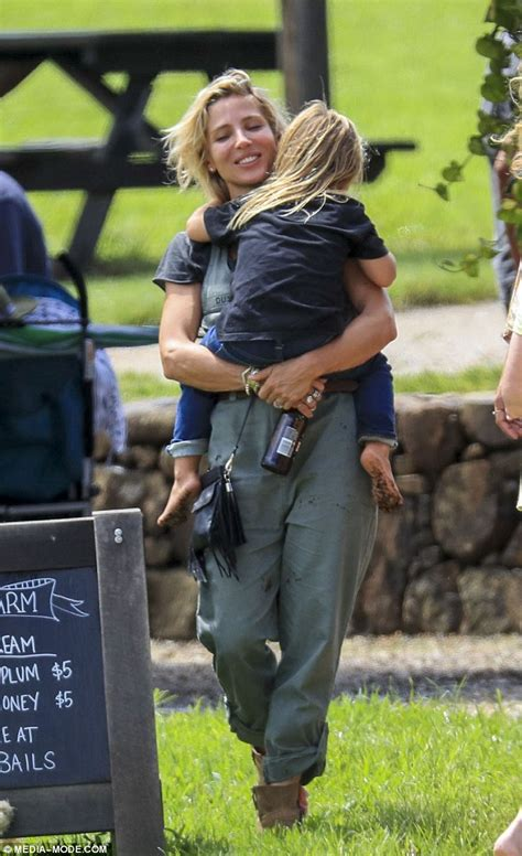 Elsa Pataky dotes on twins Tristan and Sasha at The Farm ...