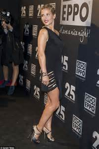 Elsa Pataky flaunts her figure in a LBD at Gioseppo party ...