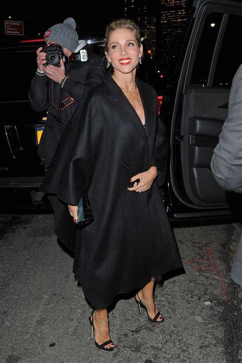 ELSA PATAKY Leaves Her Hotel in New York 01/16/2018 ...