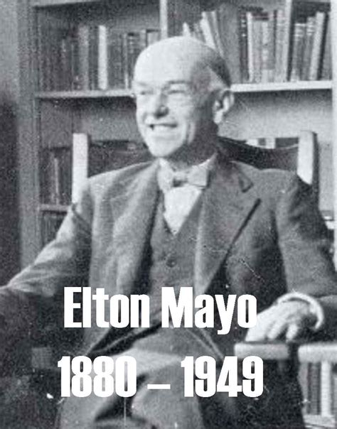 Elton Mayo and Human Relations Approach to Management