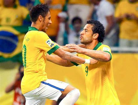 Em nova era Felipão, Fred e Neymar marcaram 50% dos gols ...