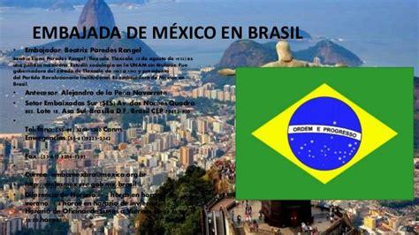 Embajadas de México en el mundo