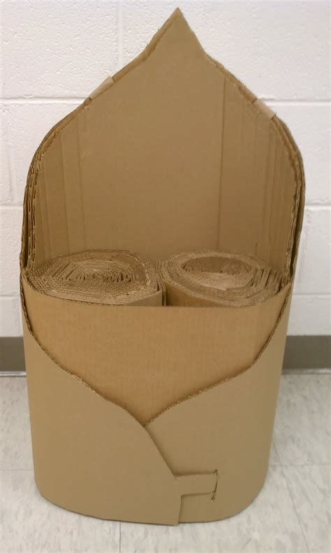 Emily Harr Photography: Final Cardboard Chair