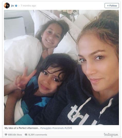 Emme y Max, los hijos de Jennifer López y Marc Anthony ...