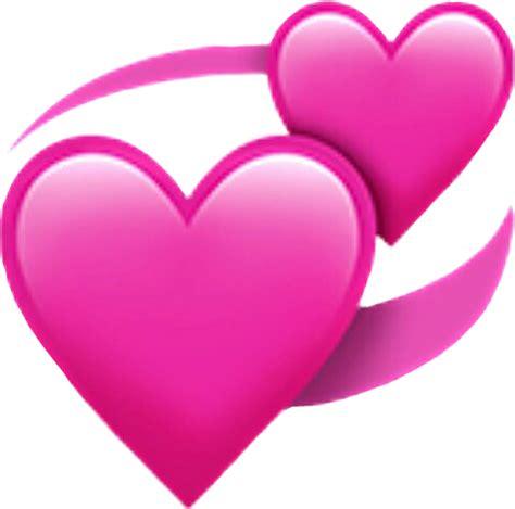 emoji corazon emoticon rosa