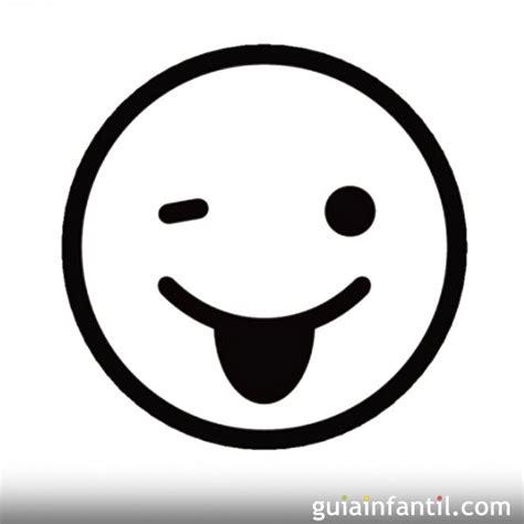 Emoticones alegres para colorear   Imagui