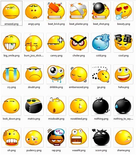 Emoticones con sus nombres   Imagui