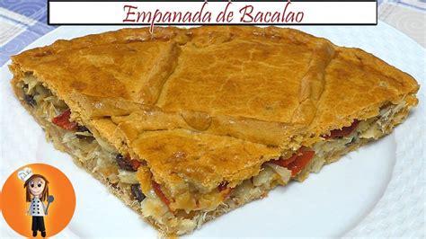 Empanada de Bacalao | Receta de Cocina en Familia - YouTube