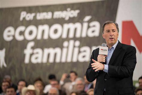 Empresarios quieren a Meade para presidente - El Horizonte