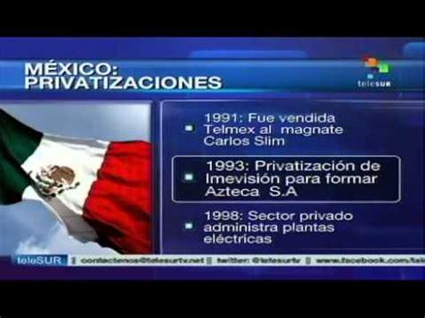 Empresas estatales que han sido privatizadas en México ...