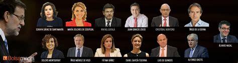 En directo | Mariano Rajoy y su nuevo Gobierno sin apenas ...