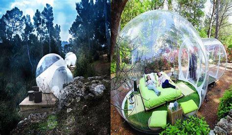 En este revolucionario hotel burbuja, estarás literalmente ...