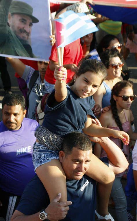 En Fotos, desfile del Primero de Mayo en La Habana ...