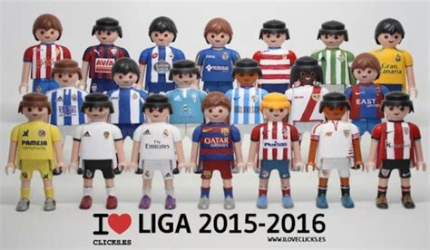 En images : Messi, Ronaldo et les équipes de Liga en Playmobil