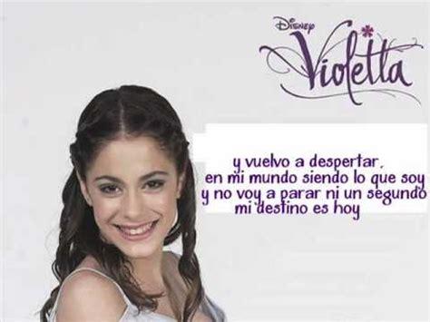 En mi mundo | Violetta (letra) Martina Stoessel - YouTube