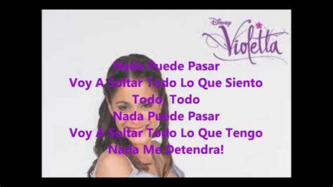 En Mi Mundo Violetta  Letra    YouTube