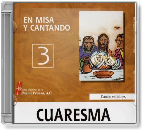 En Misa y Cantando, Cuaresma - Descarga mp3 : Jovenes Oblatos