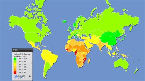 ¿En qué países son más inteligentes y en cuáles tienen un ...