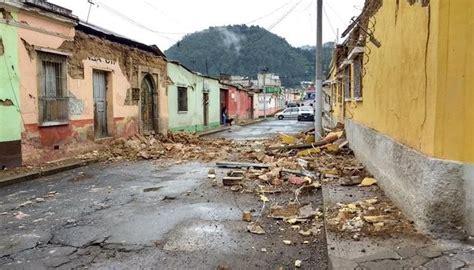 En vivo | Van cinco víctimas mortales por temblor en Guatemala