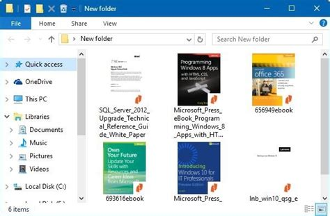 Enable Thumbnail Preview For PDF Files In Windows 10 File ...