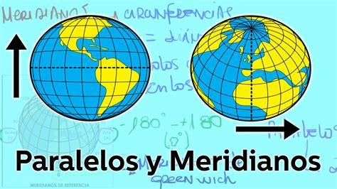 Enciclopedia de la Tierra   Meridianos y Paralelos