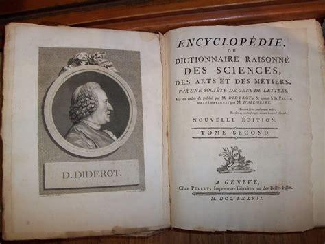 Enciclopedia di Diderot - Genesi e Importanza Storica ...